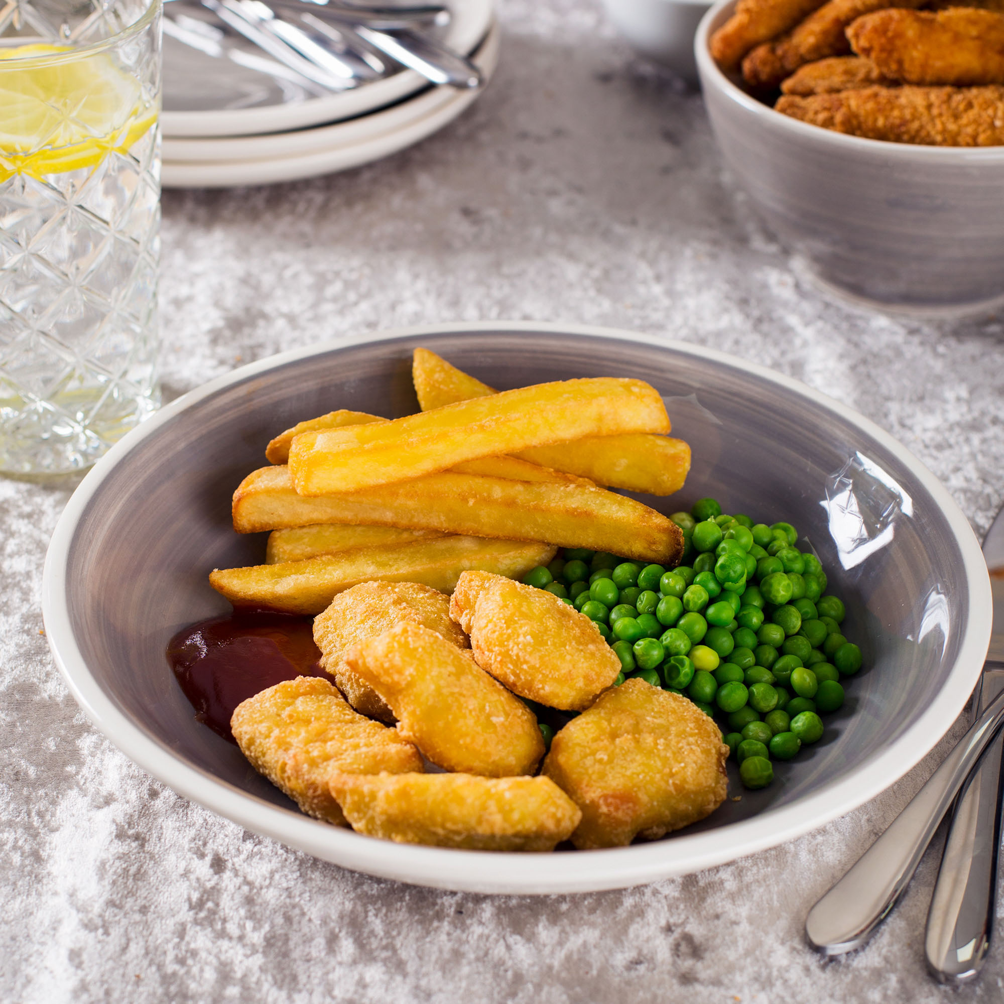 Nuggets Kcal: Battered Chicken Nuggets