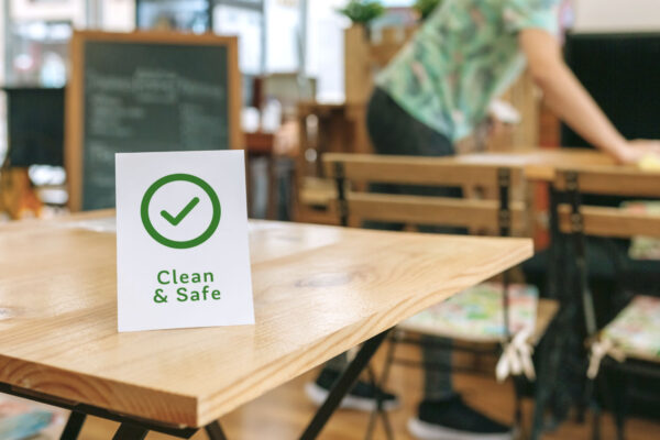 HOW TO CLEAN AND DISINFECT YOUR ESTABLISHMENT