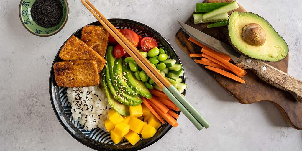 Tofu Poke Bowl