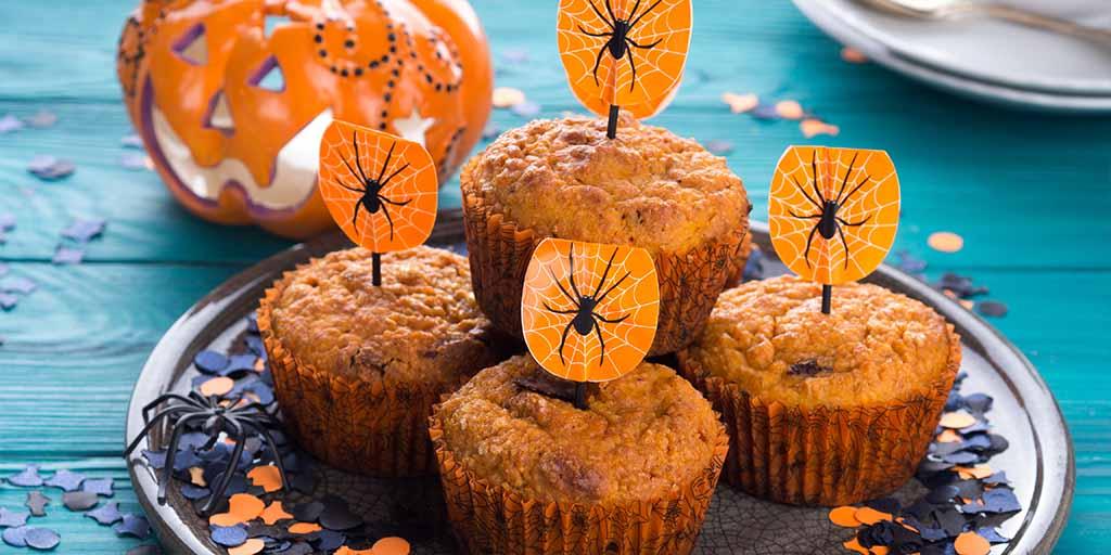 Spooky Pumpkin Muffins
